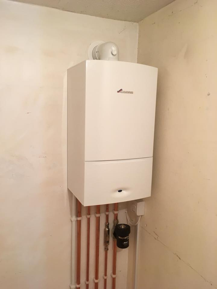 Another Boiler Installation By Green Planet Heating